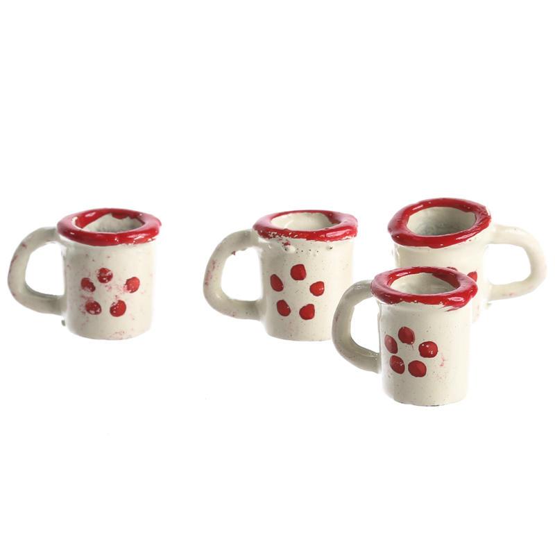 Dollhouse Miniature Coffee Cups