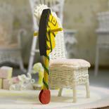 Miniature Wooden Stick Pony