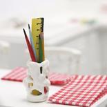 Dollhouse Miniature Desktop Art Supply Holder