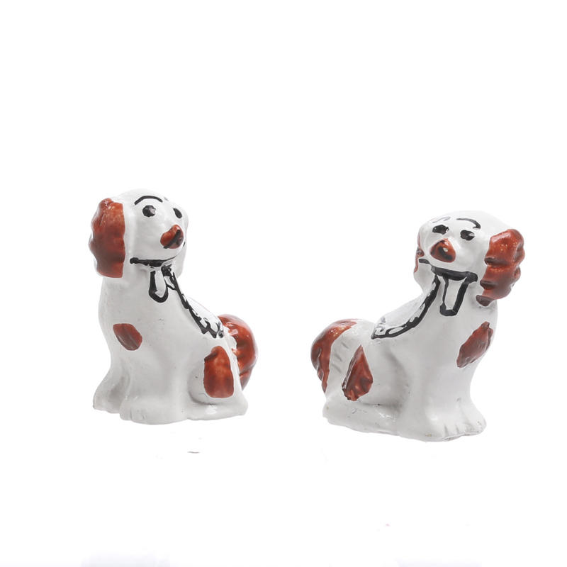 Dollhouse Miniature Dogs
