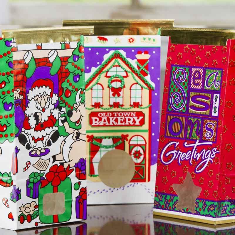 Christmas gift bag on sale craft supplies