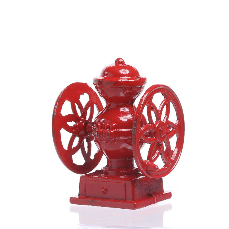 1:12 Scale Small Metal Coffee Grinder Tumdee Dolls House Miniature Kitchen