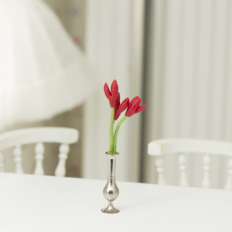 Dollhouse Miniature Flower Vase Living Room Miniatures Dollhouse