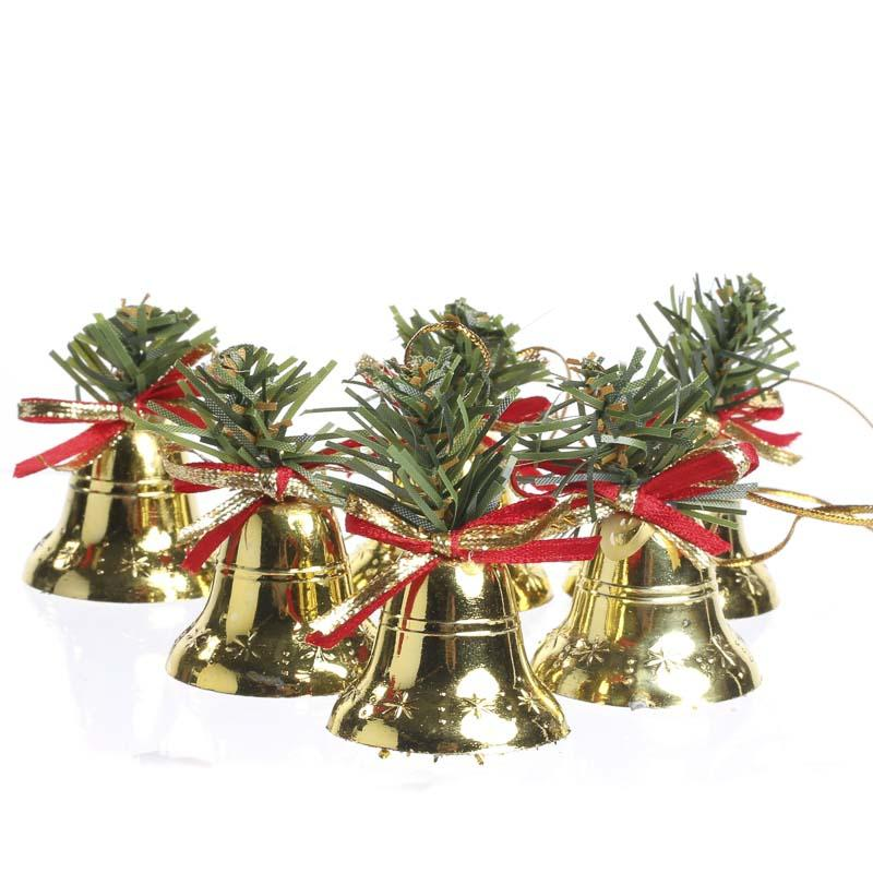 Small brass bell christmas ornaments christmas and for Christmas ornaments sale