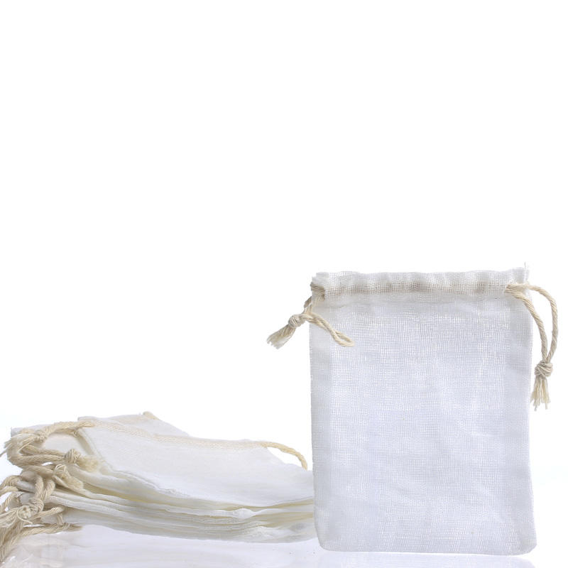 Small Muslin Drawstring Bags Bags Basic Craft Supplies