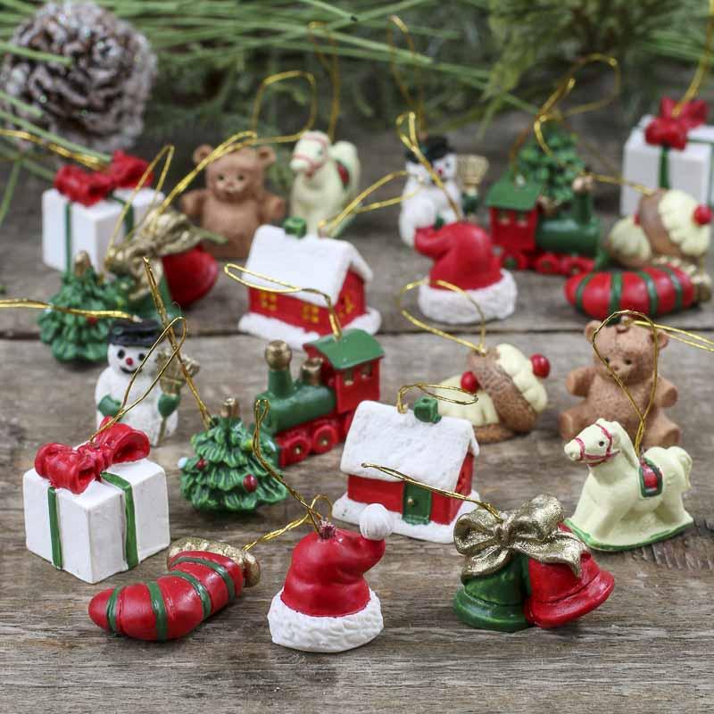 Miniature christmas ornaments miniatures sale sales