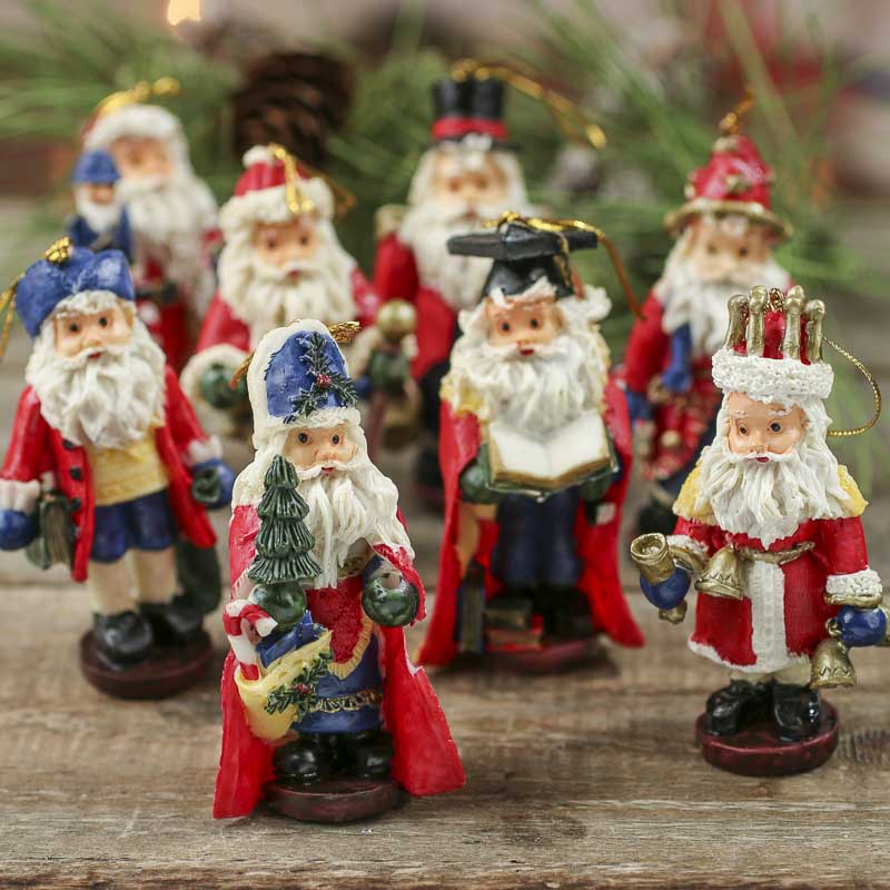Santa figurine ornament christmas and winter sale sales