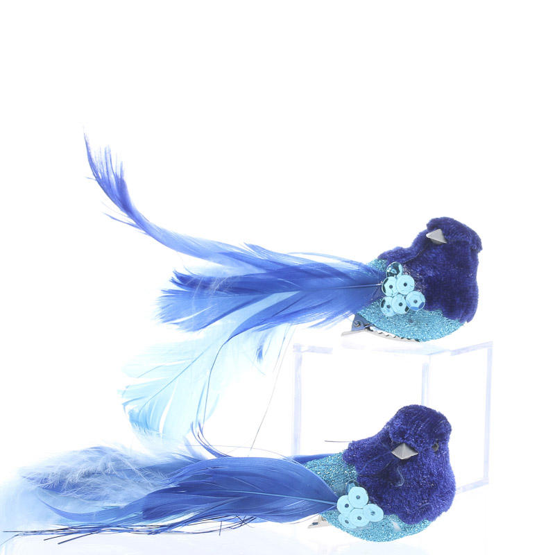 Blue velvet feathered birds birds butterflies basic for Feathered birds for crafts