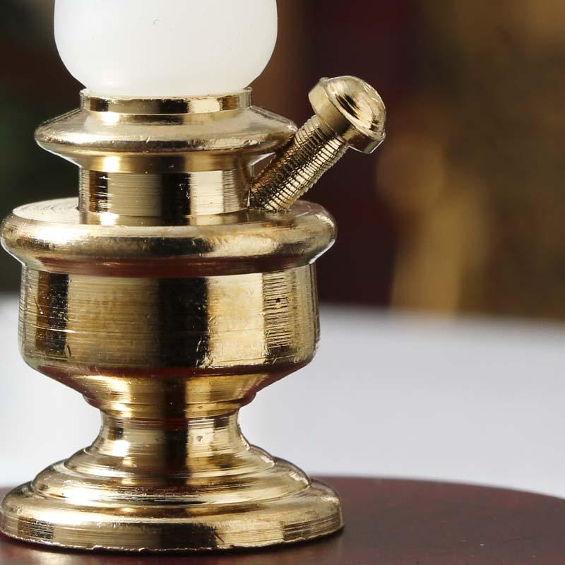 Dollhouse Miniature Oil Lamp