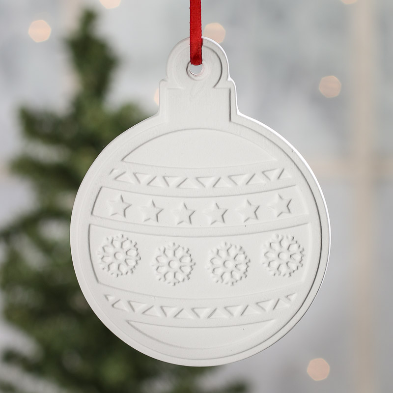 Unfinished Christmas Ball Ornament - Kids Craft Kits ...