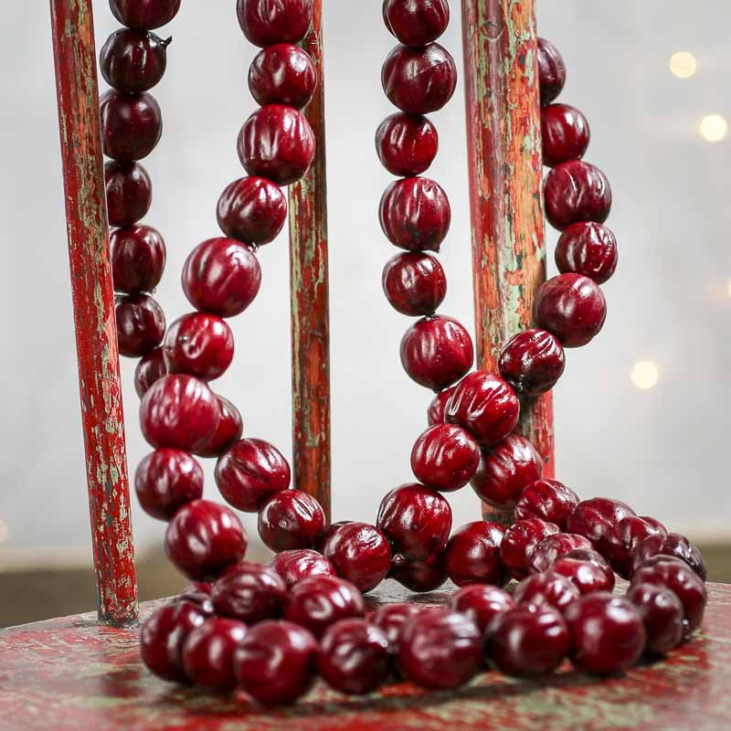 Cranberry Garland Artificial