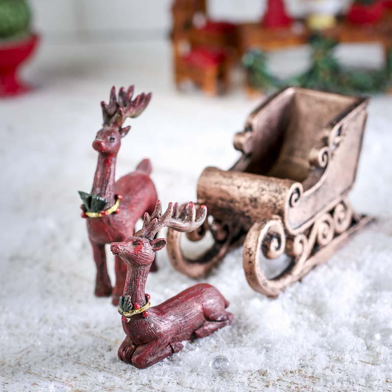 Paper Mache Reindeer Craft
