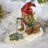 Miniature Ice Fishing Gnome