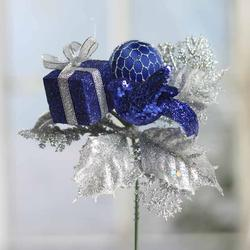 Delightful Royal Blue Christmas Ornaments Part - 7: Click Here For A Larger View