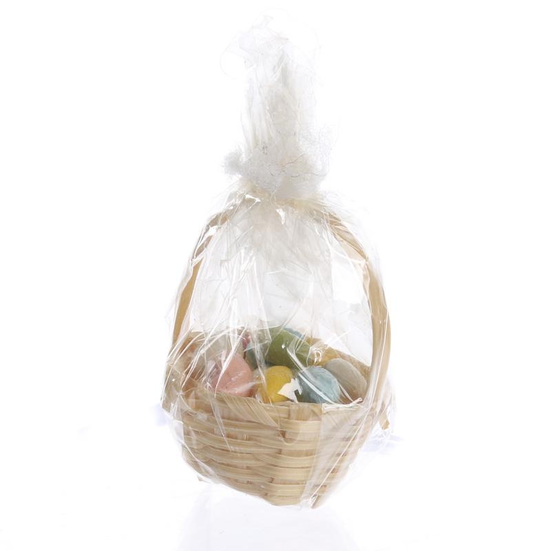 Bamboo Basket Making Supplies : Dollhouse miniature wicker easter basket nursery