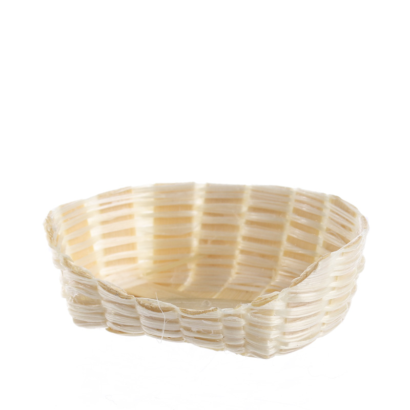 Bamboo Basket Making Supplies : Dollhouse miniature wicker basket living room miniatures
