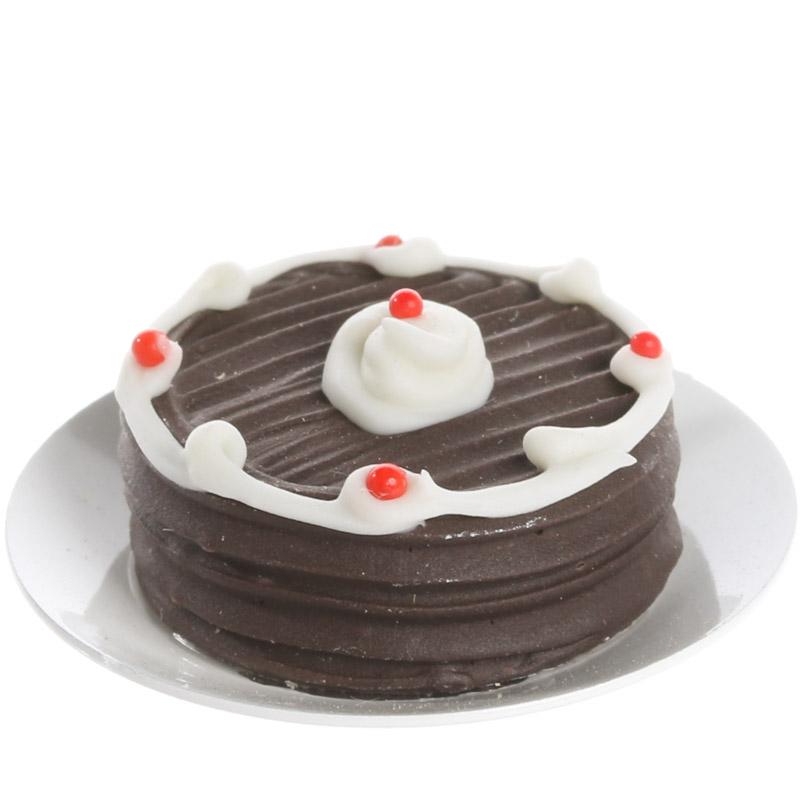 DOLLS HOUSE MINIATURE CHOCOLATE CAKES NN8R