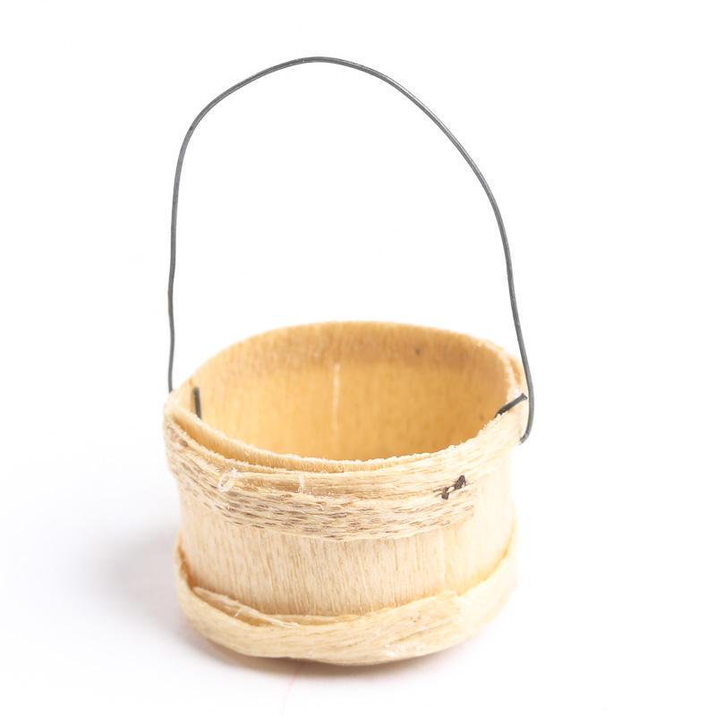 Bamboo Basket Making Supplies : Dollhouse miniature wicker basket kitchen miniatures