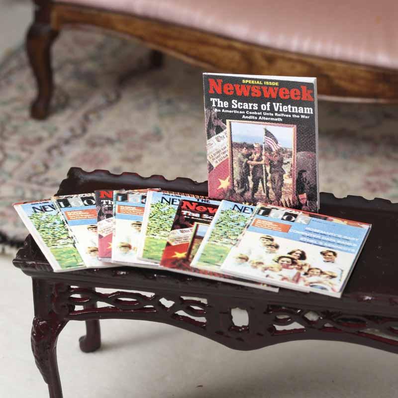 Dollhouse Miniature Magazines