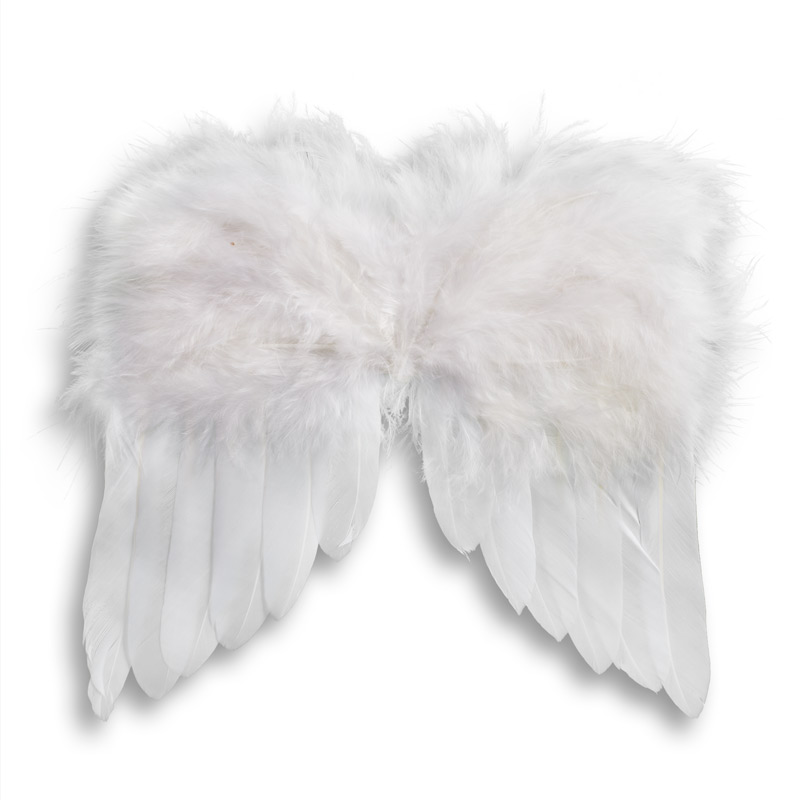 White Feather Angel Wings - Angel Wings - Doll Supplies ...