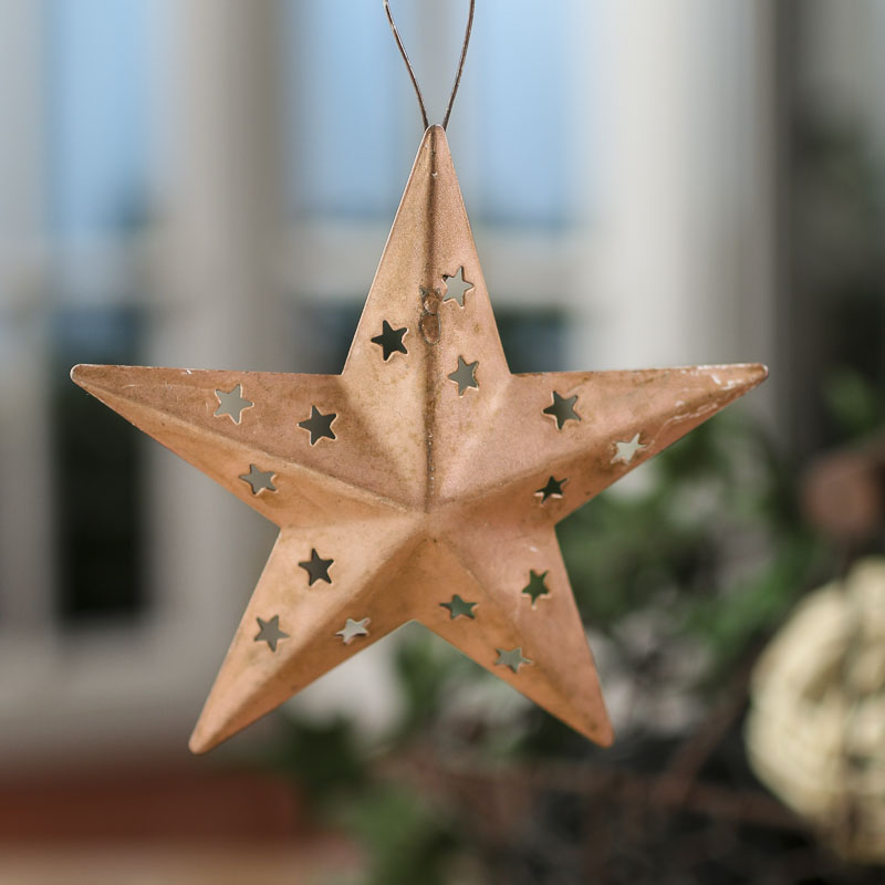 Rustic Copper Dimensional Barn Star - Barn Stars ...