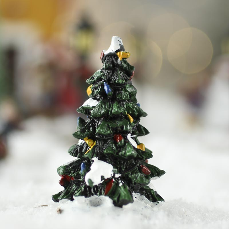 miniature christmas tree table shelf decorations. Black Bedroom Furniture Sets. Home Design Ideas