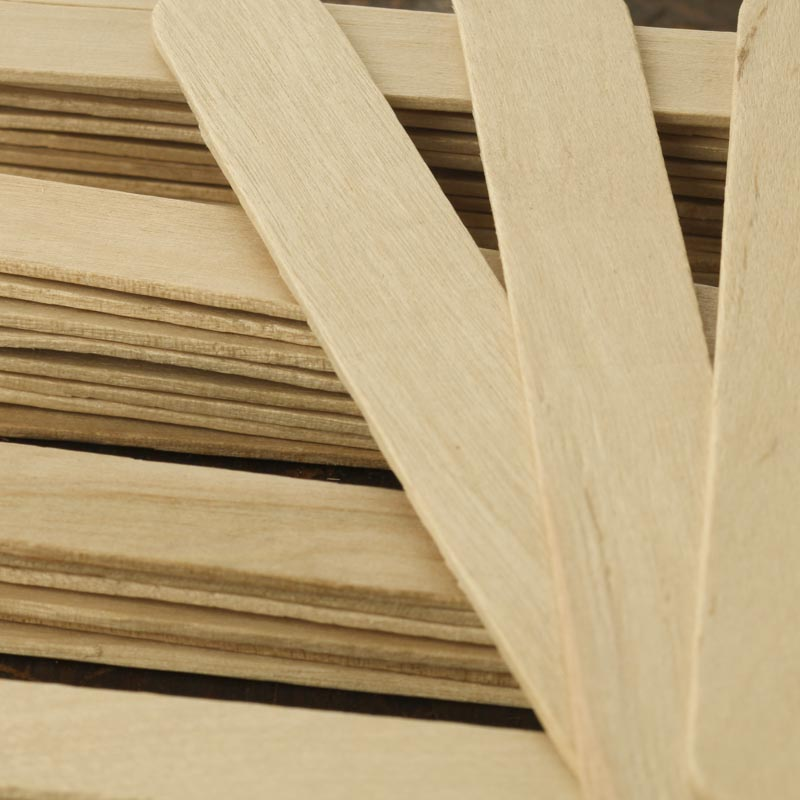 Jumbo unfinished wood craft sticks popsicle sticks and for Wood craft supply stores