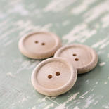 English Rim Wood Buttons