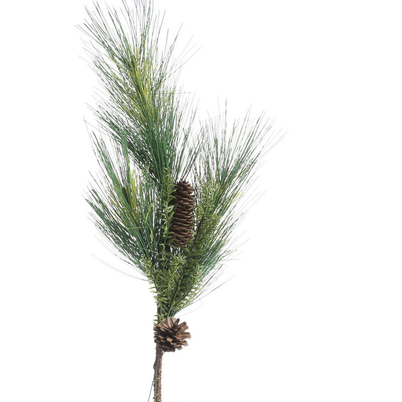 Artificial Pine Spray Table Decor Christmas And Winter