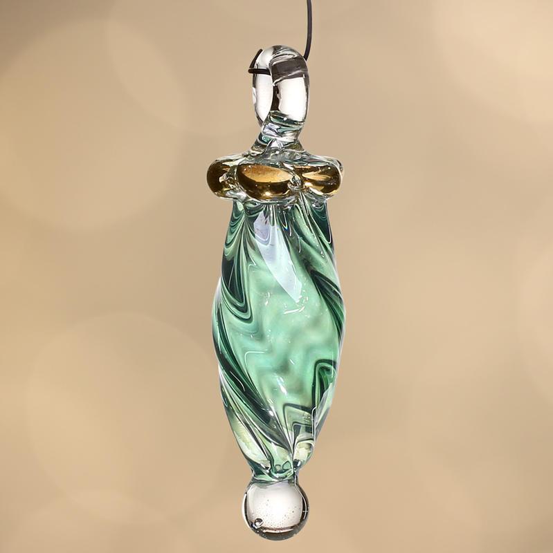 Hand Blown Egyptian Pyrex Glass Ornament - Christmas ...