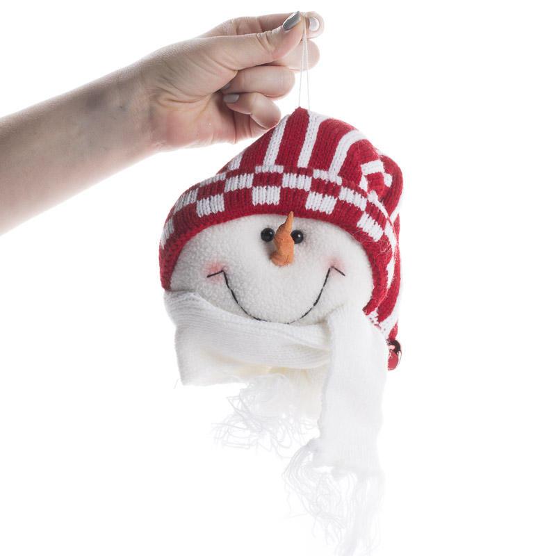 Plush Snowman Ornament Christmas Ornaments Christmas