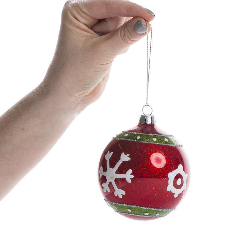 Assorted glass ball christmas ornaments christmas for Glass christmas balls crafts