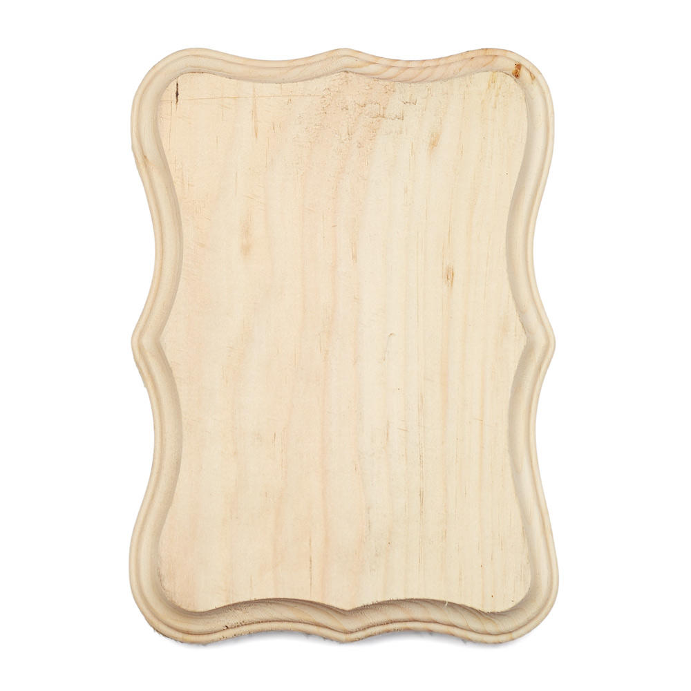 Unfinished Wood Shield Plaque - Wooden Plaques and Signs ...