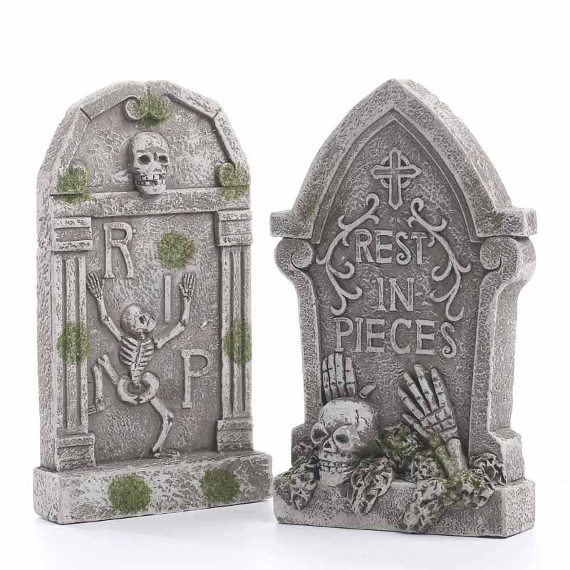 Miniature Halloween Tombstone - Fall Craft Supplies - Fall and ...