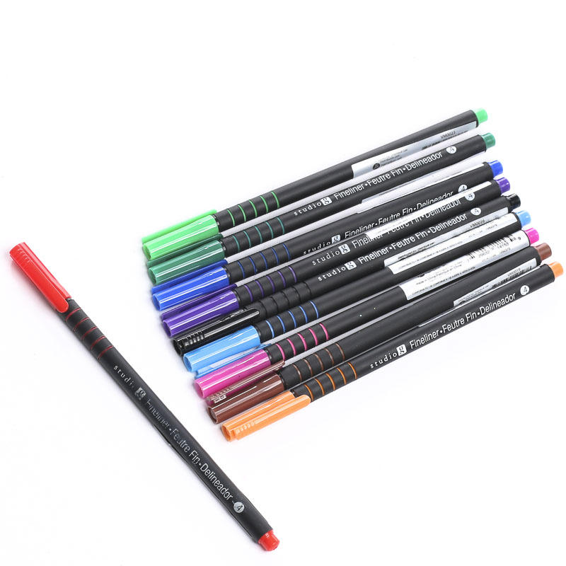 Adult Coloring Fineliner Markers - Apple Barrel Acrylic Paint ...