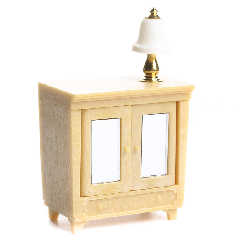 Dollhouse Miniature Electric Lamp Table - Living Room ...