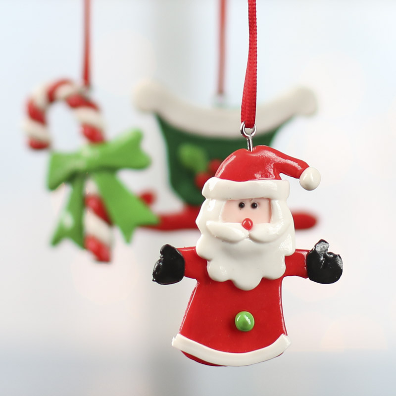 Shiny clay christmas ornaments christmas and winter sale for Christmas ornaments sale