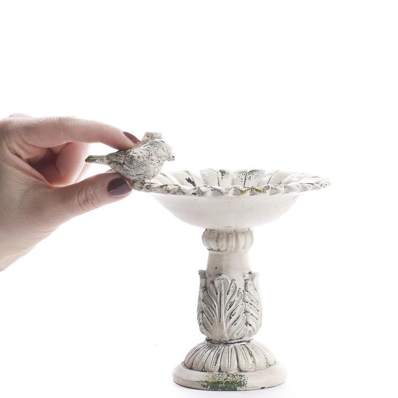 Home Interiors Candles Catalog: Elegant Bird Bath Candle Holder