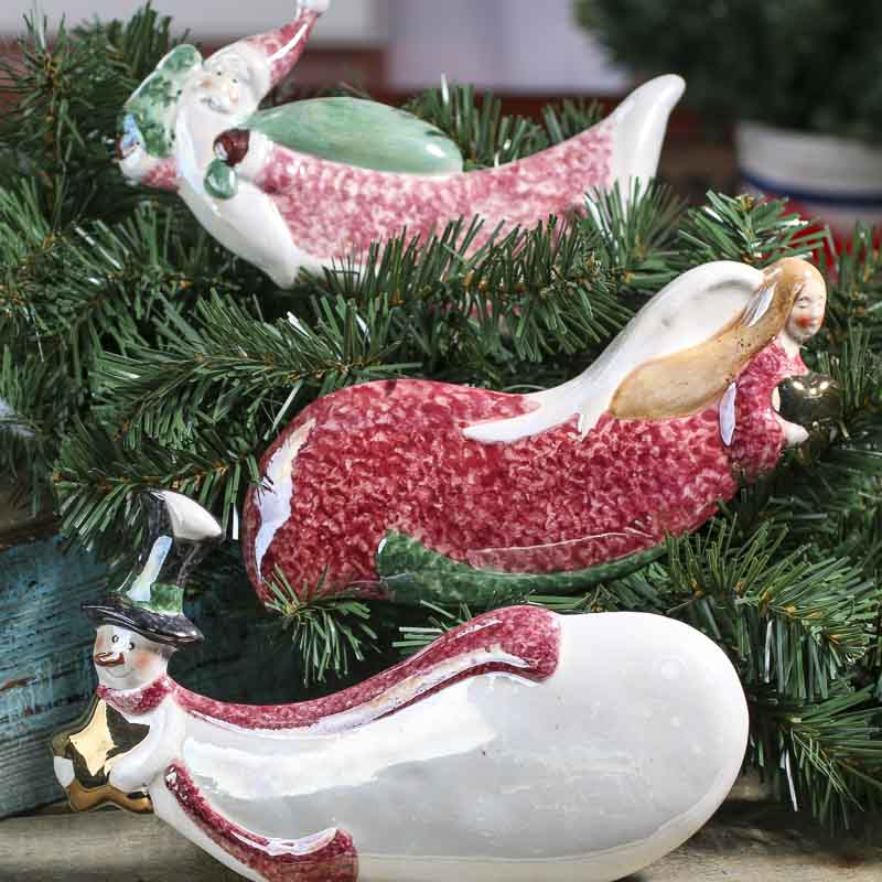 item 902056a let this ceramic christmas ornament - Ceramic Christmas Ornaments