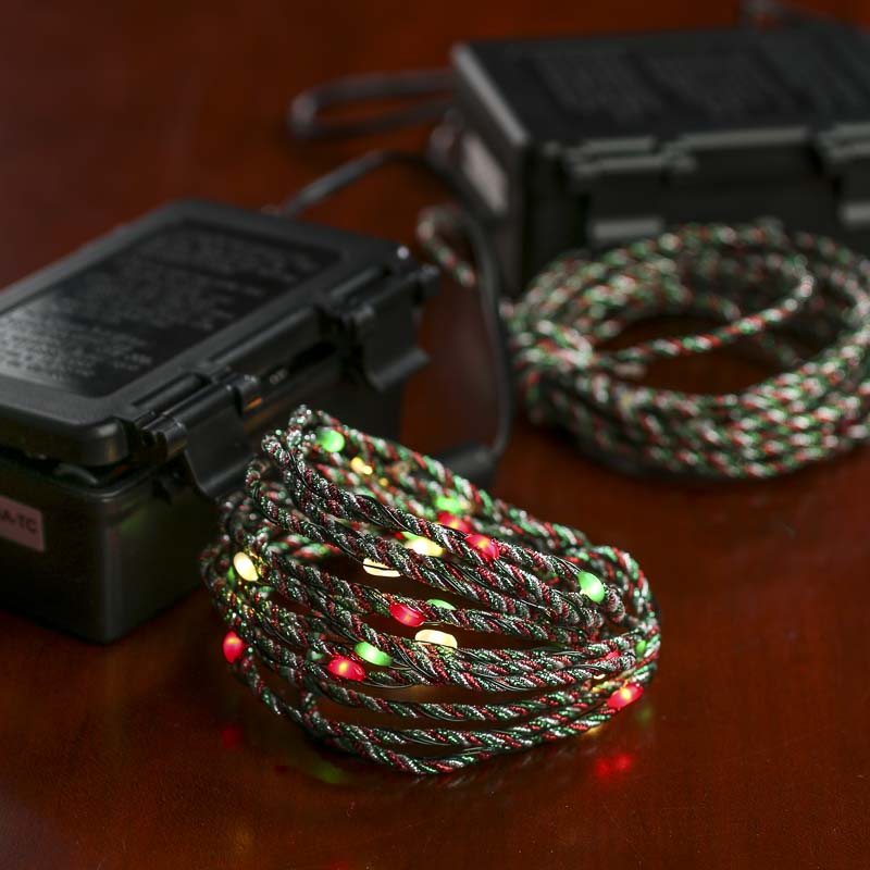 Battery Christmas Lights With Timer Outdoor