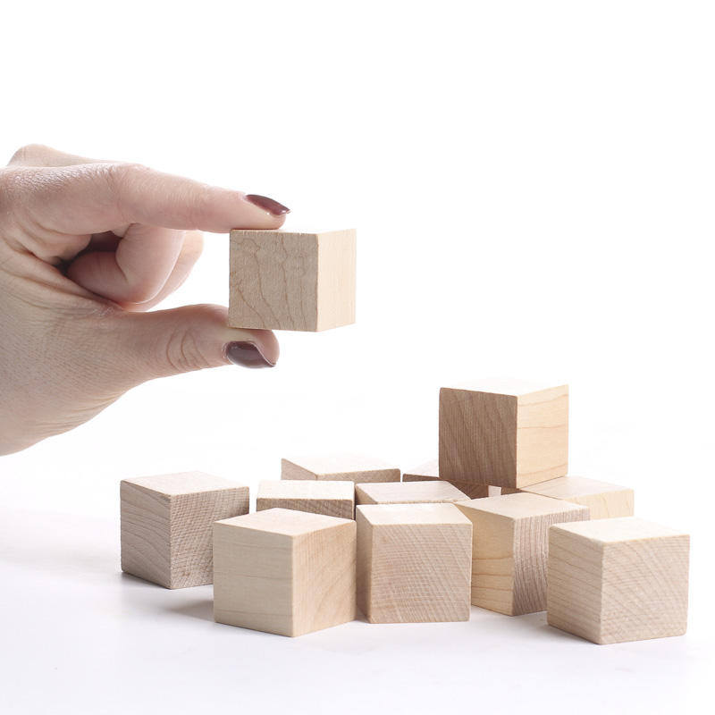 Unfinished Wood Cubes Wooden Cubes Wood Crafts Craft