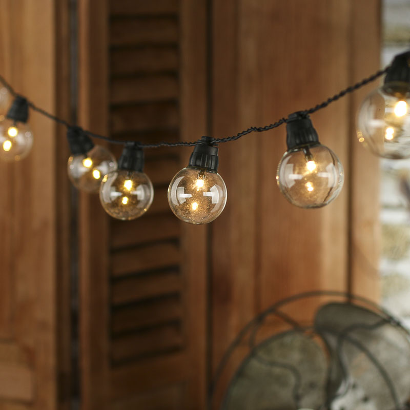 Globe String Lights Battery Operated Leds : Battery-Operated Vintage Globe LED String Lights - Lighting - Christmas and Winter - Holiday Crafts