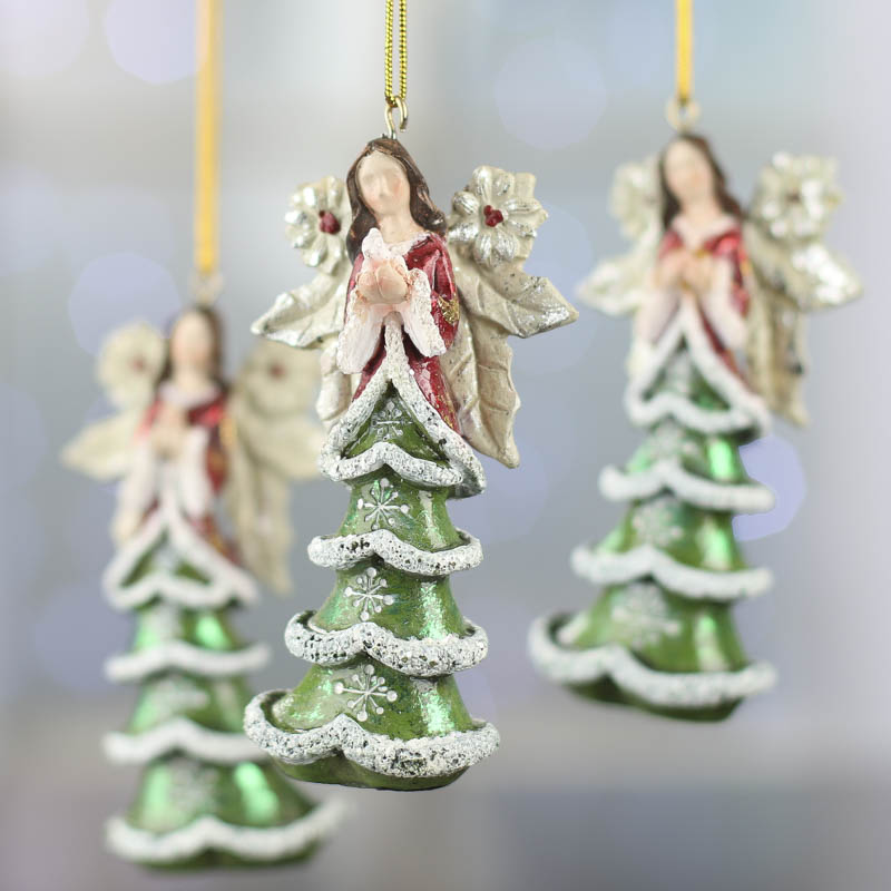 Angel Ornaments For Christmas Tree.Christmas Tree Angel Ornament