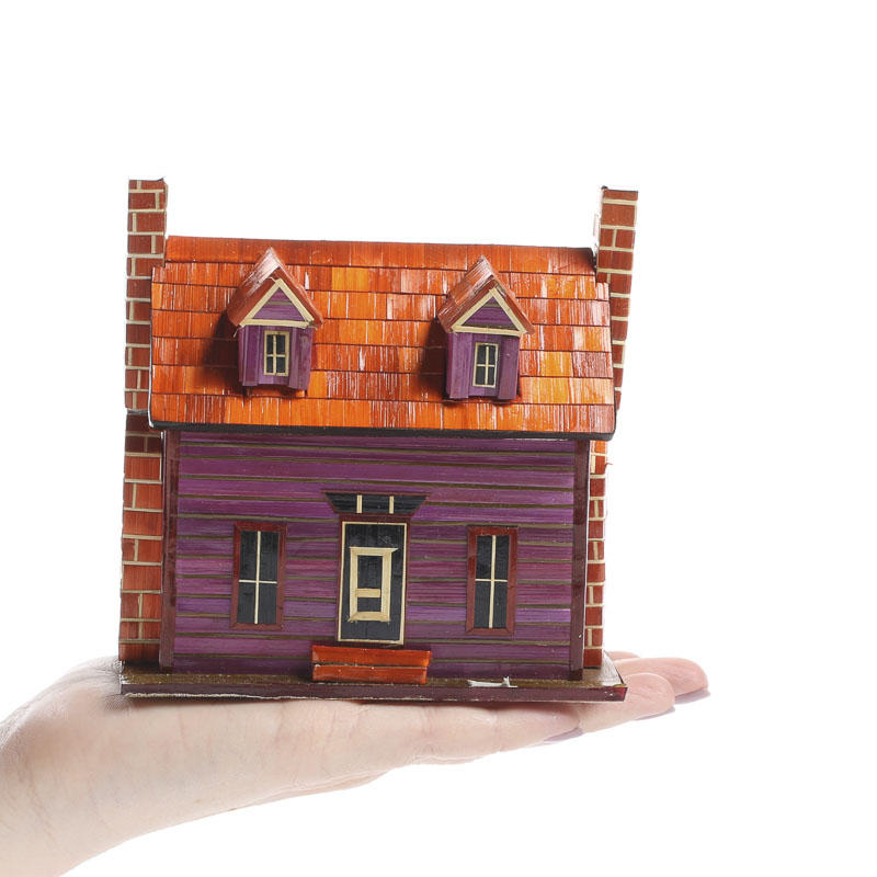 Home Interior Products: Miniature Old Fashioned House Storage Box
