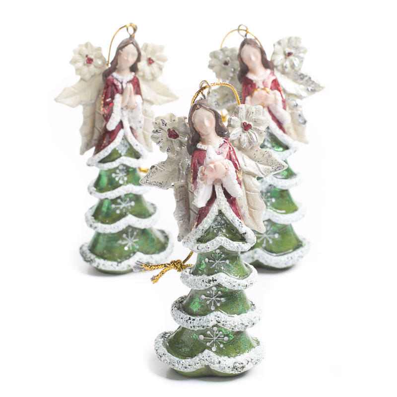 Christmas Ornament Angels From Office Supplies: Christmas Tree Angel Ornament