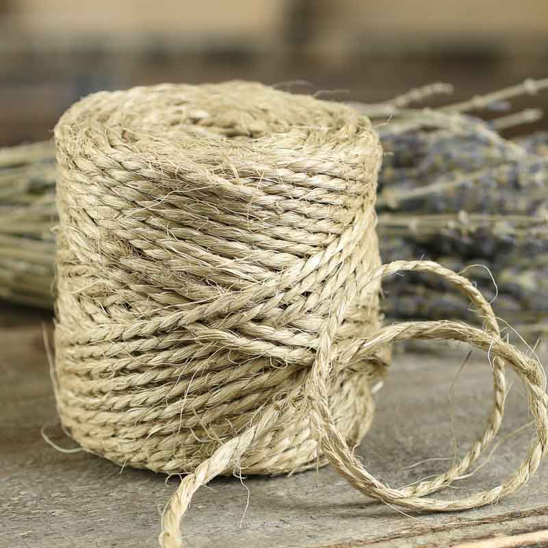 all natural sisal rope twine - Western Wedding Supplies