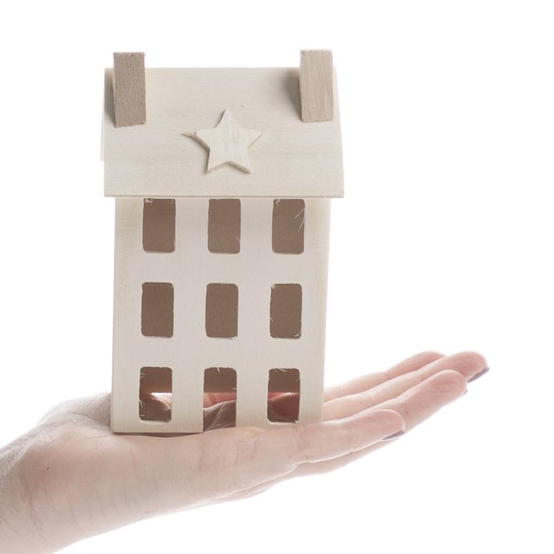 Primitive Home Decor Catalogs: Unfinished Wood Primitive Saltbox House