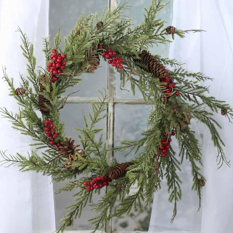 Christmas Pre Lit Wreaths