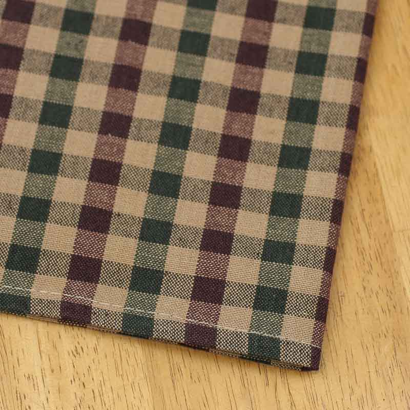 Christmas Gingham Plaid Dish Towel Kitchen Towels