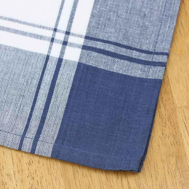 nautical blue and white stripe dish towel kitchen towels